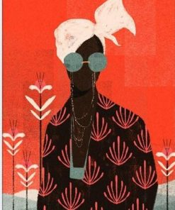 African Illustration Art paint by numbers