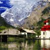 Berchtesgaden National Park paint by numbers