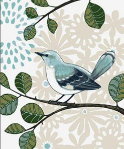 Blue Bird paint by numbers
