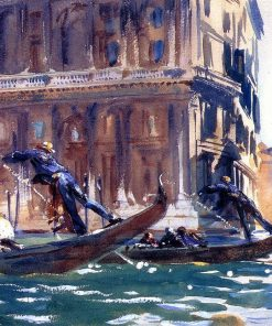 Canal in Venice paint by numbers