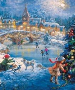 Christmas Celebration paint by numbers