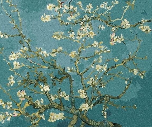 Almond Blossoms Vincent Van Gogh Flowers Paint By Number Numeral Paint