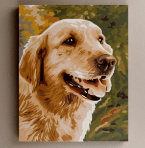 Dogs paint by number