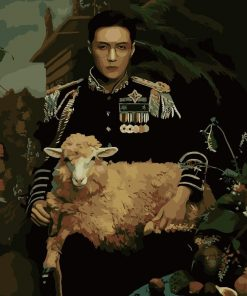 Exo Lay Sheep paint by numbers