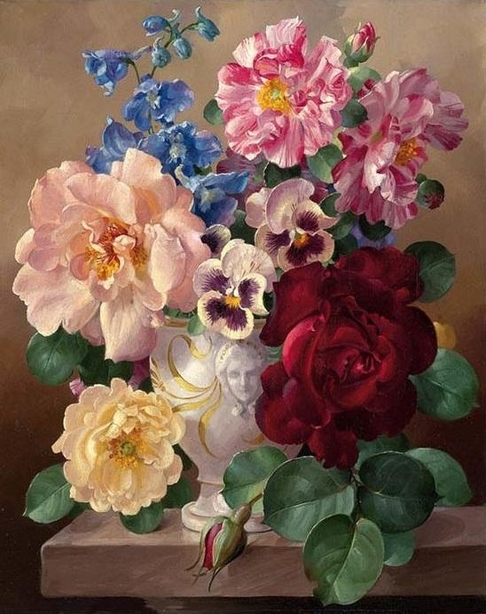 Flowers Bouquet paint by numbers