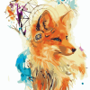 Fox Dream Catcher paint by number