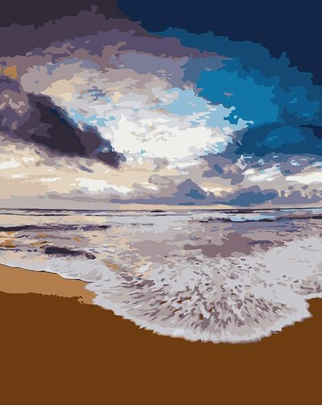 Golden Beach Sand paint by numbers