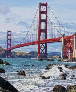 Golden Gate Bridge San Francisco paint by numbers