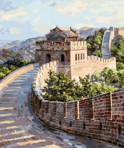 Great Wall of China paint by numbers