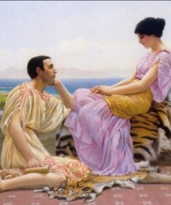 Greek Couple paint by numbers