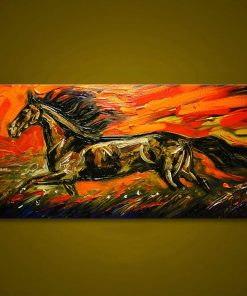 Hand Painted Horse paint by numbers