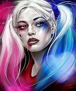 Harley Quinn Art paint by numbers