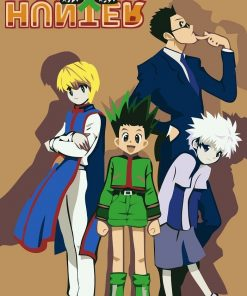 Hunter × Hunter paint by numbers