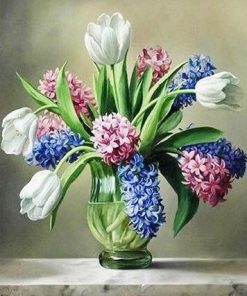 Hyacinth Flower paint by numbers