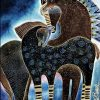 Indigo Sky Horses paint by numbers