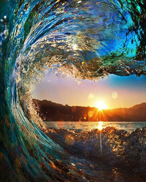 Inside The Wave paint by numbers