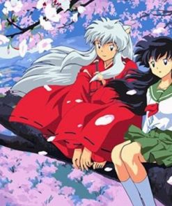 Inuyasha paint by numbers