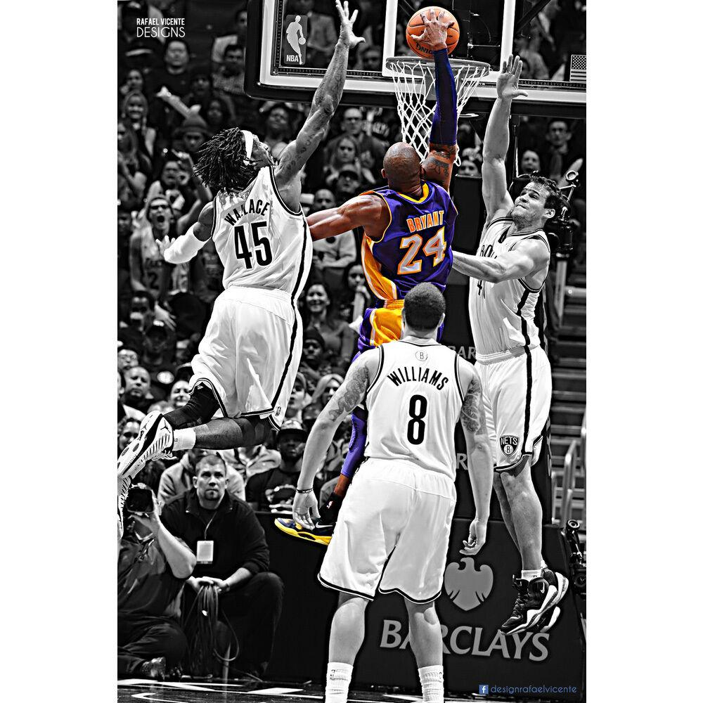 Kobe Bryant Legendary Dunk paint by numbers