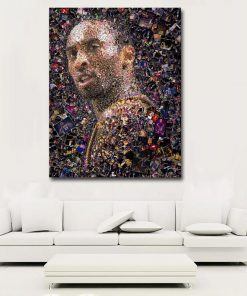Kobe Bryant The Legend paint by numbers