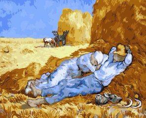 La Méridienne Vincent Van Gogh's paint by numbers