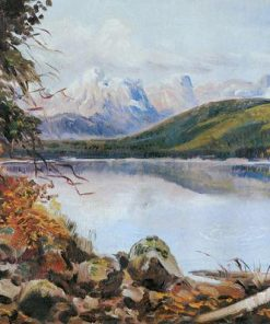 Lake McDonald paint by numbers
