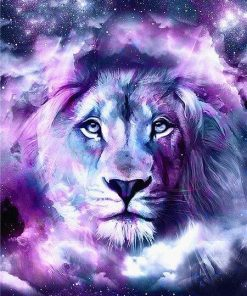 Lion Of The Galaxy paint by numbers