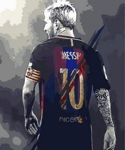 Lionel Andrés Messi paint by numbers