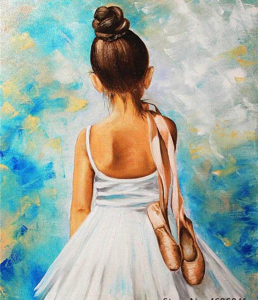 Little Ballet Dancer paint by numbers