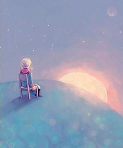 Little Prince In space paint by numbers