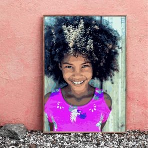 paint your own photo by numbers