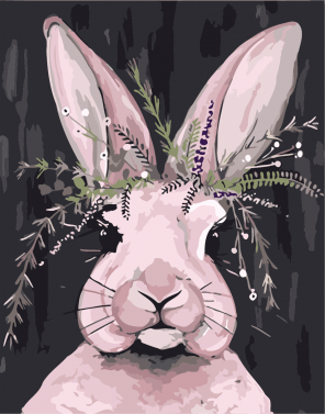 Long Ears Bunny paint by numbers