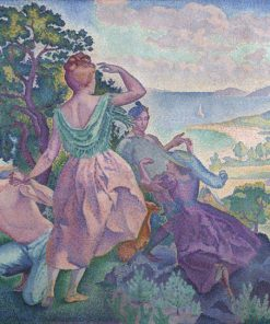 Lovers In Picnic paint by numbers