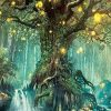 Magic Tree paint by numbers