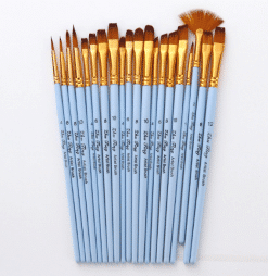 Matt blue Nylon Paint Brush