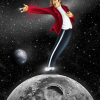 Michael Jackson on The Moon paint by numbers
