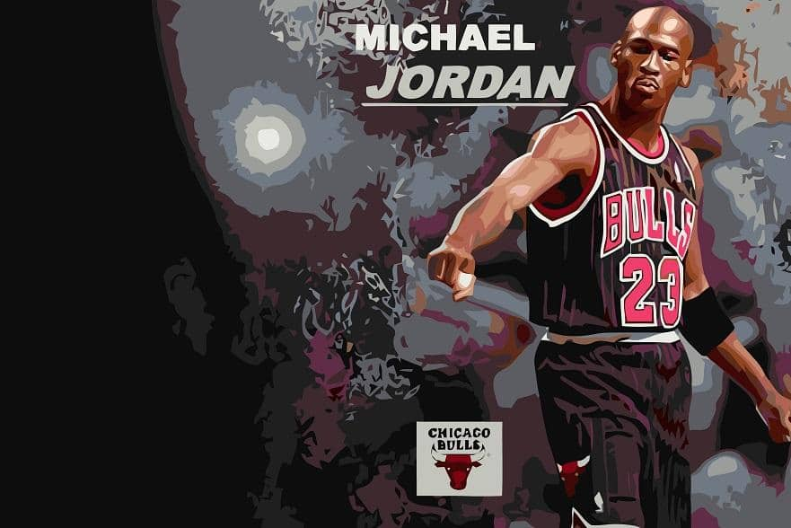 Michael Jordan Icon paint by numbers