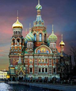 Moscow Castle paint by numbers
