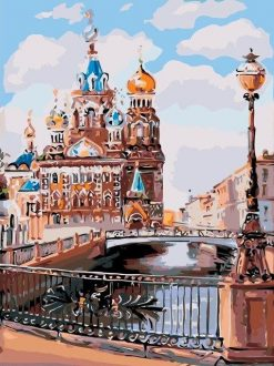 Moscow paint by numbers