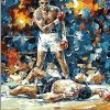 Muhammad Ali Klay paint by numbers