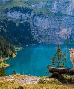 Oeschinen Lake paint by numbers