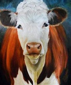 Old Cow paint by numbers
