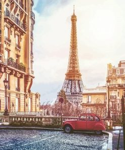 Old Paris paint by numbers