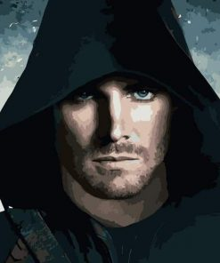 Oliver Queen paint by numbers