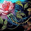 Papalotl Rosalis paint by numbers