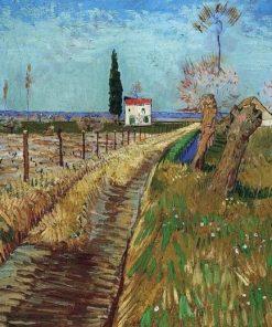 Path and Pollard Trees Van Gogh paint by numbers