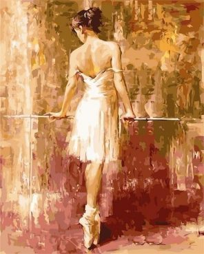 Purity Ballerina paint by numbers