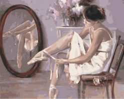 Ballet Dancer - DIY Paint By Numbers - Numeral Paint