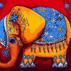 Cartoon Elephant Animals - DIY Paint By Numbers - Numeral Paint