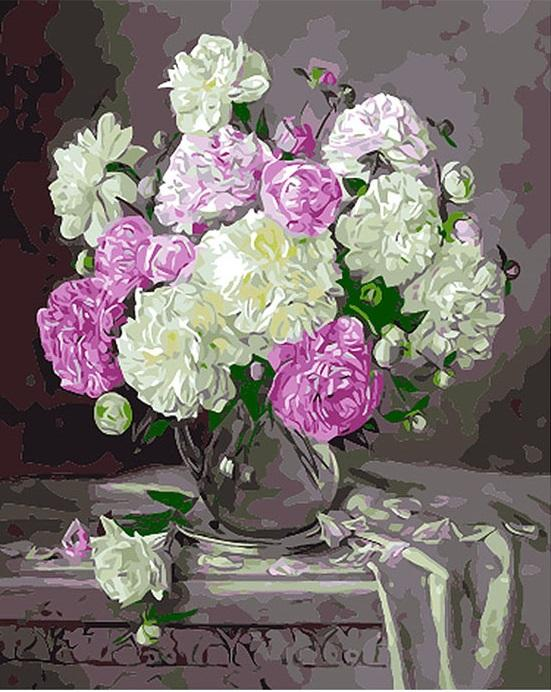 Europe Flower - DIY Paint By Numbers - Numeral Paint