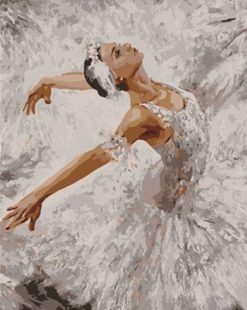 Ballet Artwork - DIY Paint By Numbers - Numeral Paint